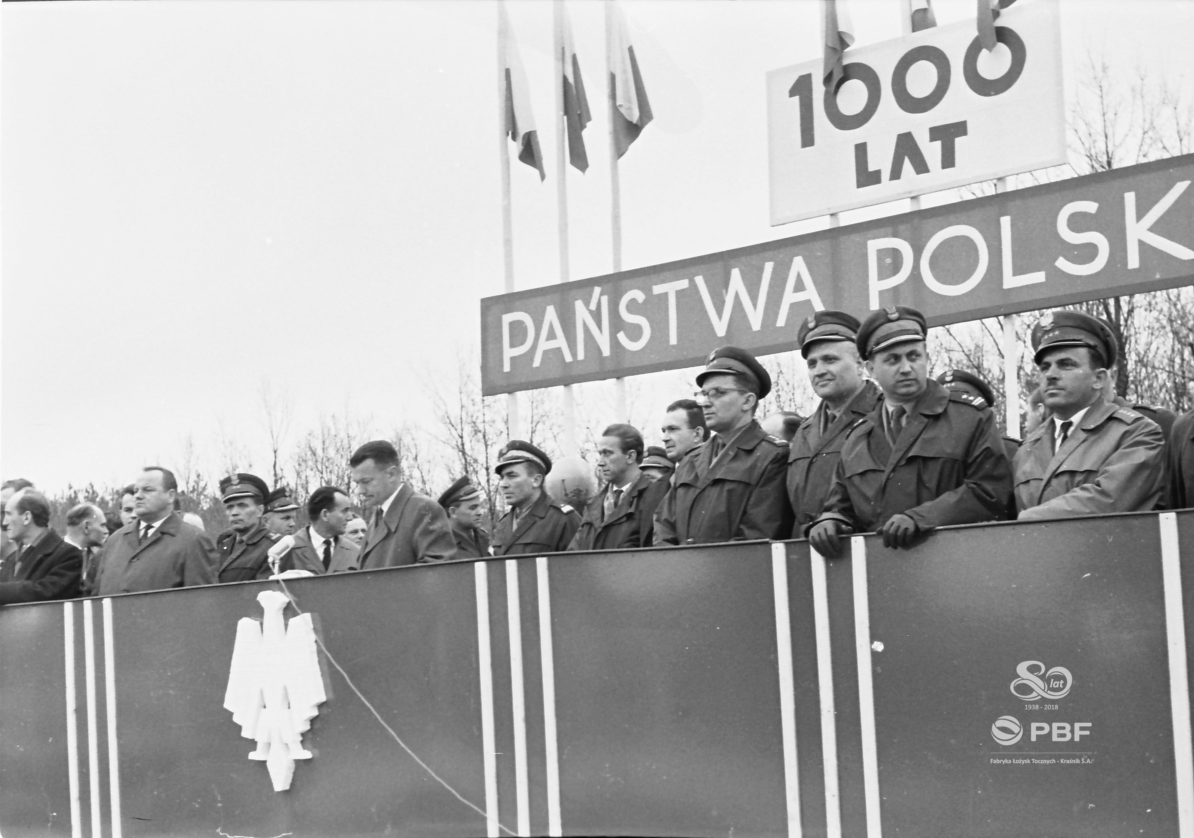 17 kwietnia 1966r. Sztafeta 1000 lecia. | 80 lat FŁT ...
